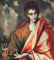 Saint John the Evangelist, by El Greco