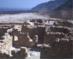 The Ruins at Khirbet Qumran, by the Dead Sea