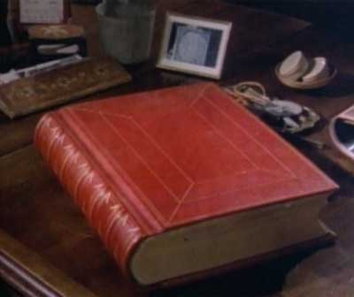 The Red Book on Jung's desk