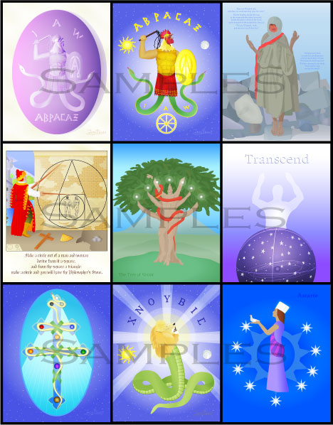 Art Prints from the Gnostic Calendar